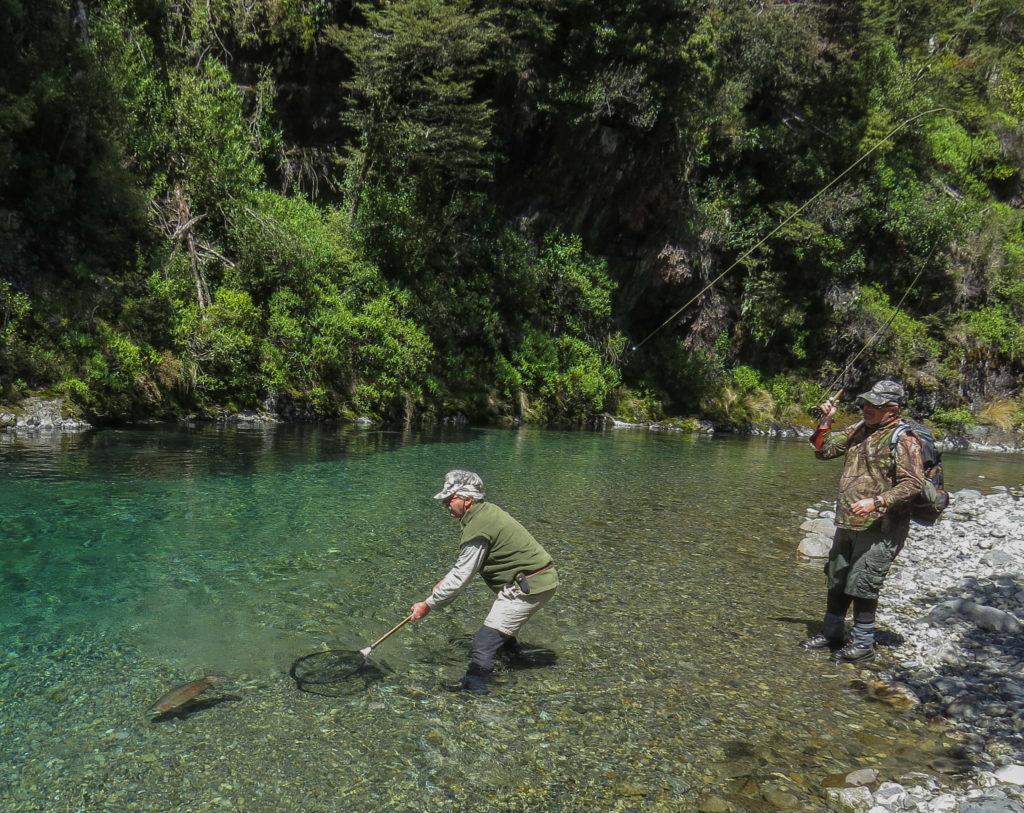 Heli fishing near lake taupo helisika for Backcountry fly fishing
